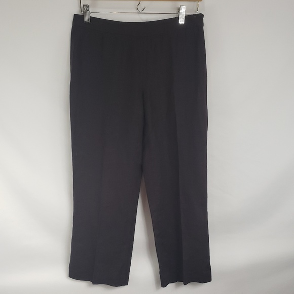 Jaeger For Saks Fifth Avenue Pants - Jaeger For Saks Fifth Avenue Brown Linen Pants